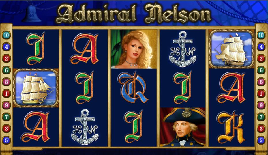 Admiral Nelson Review Rollen